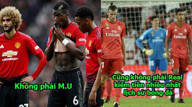 Quên M.U hay Real đi, đây mới là CLB kiếm tiền nhiều nhất lịch sử bóng đá thế giới