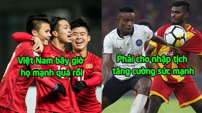 Lo sợ trước sức mạnh của Việt Nam tại AFF Cup, Malaysia buông lỏng chính sách nhập tịch để củng cố sức mạnh đội tuyển khiến cả ĐNÁ khinh thường