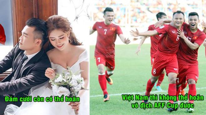 Quyết tâm vô địch AFF Cup, siêu tiền vệ Việt Nam hoãn luôn cả đám cưới để phục vụ ĐTQG khiến hàng triệu người thán phục