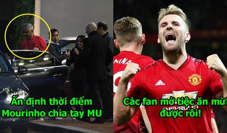 Xong! Ban lãnh đạo M.U đã quyết định sa thải Mourinho, các fan mở tiệc ăn mừng đi thôi!