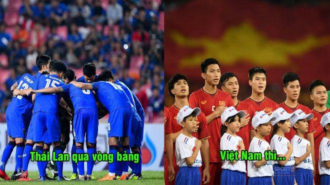 Trong khi cả châu Á đều đánh giá cao Việt Nam, truyền hình Qatar lại dự đoán kết cục của chúng ta ở vòng bảng thế này đây
