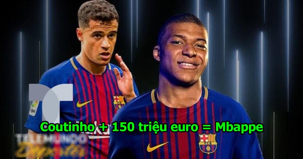 XONG! Barca chốt 150 triệu euro + Coutinho để sở hữu cầu thủ đắt giá nhất hành tinh, trao luôn cú ăn 6 cho họ đi thôi