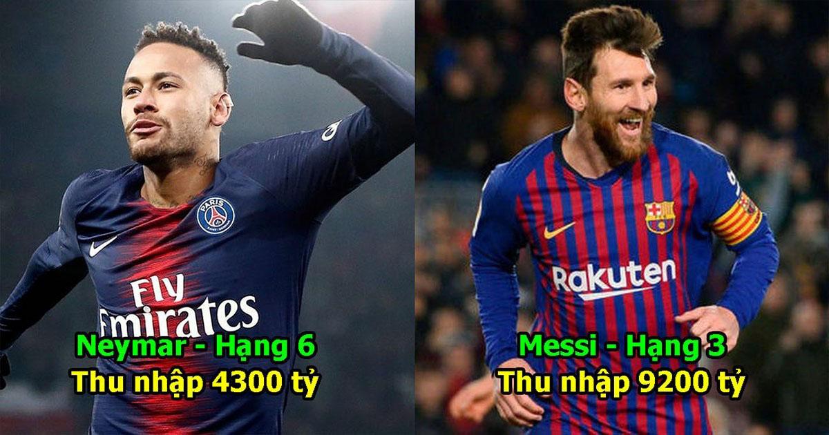 Top 10 cầu thủ giàu nhất lịch sử bóng đá thế giới: Vị trí số 1 xứng danh cỗ máy in tiền