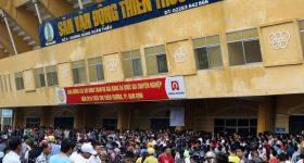 Bóng đá Việt Nam 27/3: HAGLnhắm sân Thiên Trường