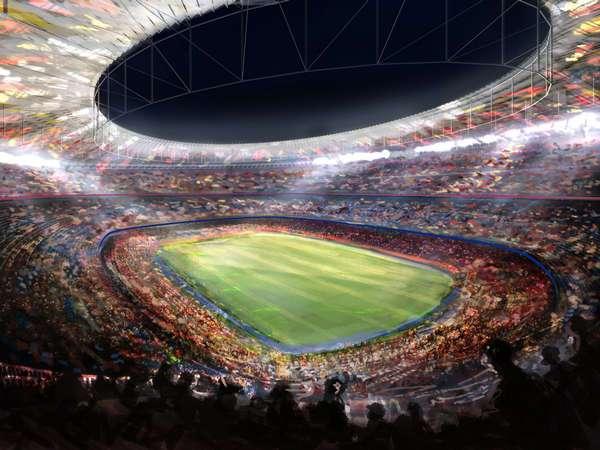 Chiêm ngưỡng 10 sân bóng đá lớn nhất thế giới