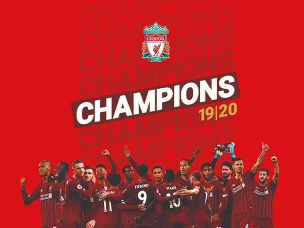 Hành trình lên ngôi vô địch Premier League của Liverpool