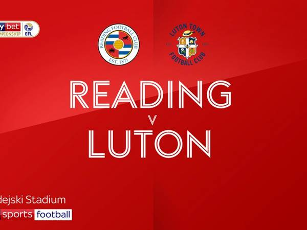 Reading vs Luton Town