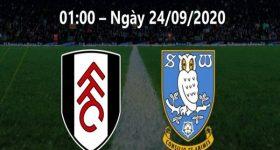 Dự đoán Fulham vs Sheffield Wed, 01h00 ngày 24/9