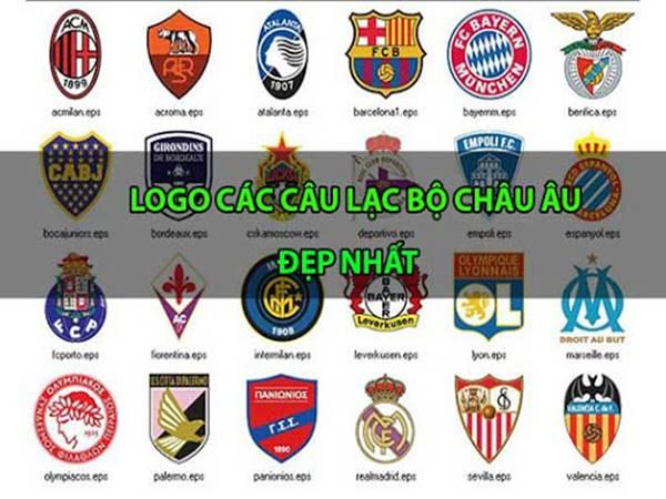 Ý nghĩa logo các câu lạc bộ bóng đá Châu Âu nổi tiếng nhất