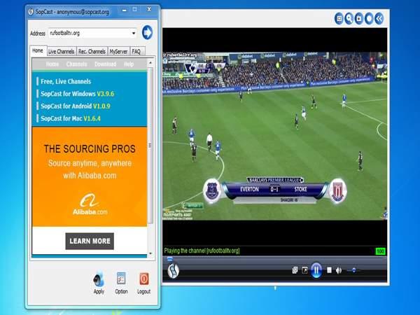 Hướng dẫn chi tiết cách xem bóng đá bằng sopcast
