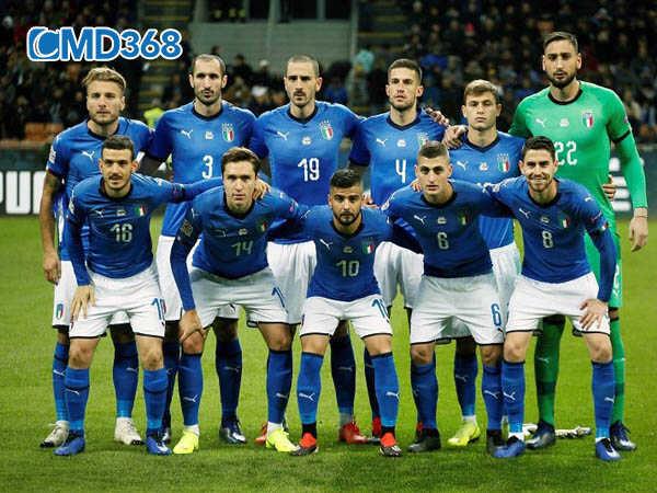 Danh sách dự kiến cầu thủ đội hình Ý giải Euro 2020 năm 2021