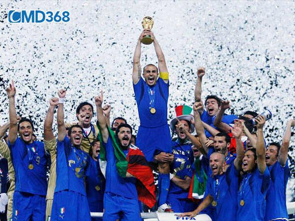 Thành tích đội tuyển Ý tại Euro
