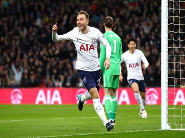 Christian Eriksen (Tottenham) vs Manchester United – 31/1/2018 (10,54 giây)