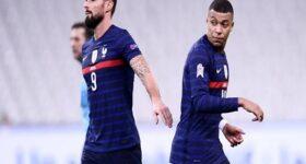 Bóng đá Quốc tế tối 15/6: Vấn đề của Mbappe – Giroud